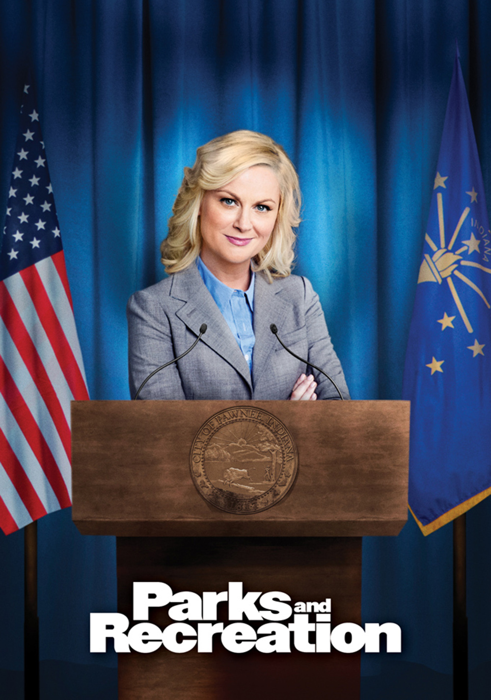 Image result for parks and rec poster